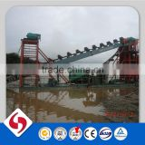 iron sand dredging ship with magnetic separator