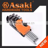 INquiry about 9pcs torx hex key set wrench set AK-0196