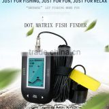 9m Smart Sonar Fish Finder Water Temperature Display & Shallow Water Alarm Fish Finder