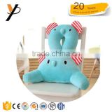 Hot sale soft baby elephant pillow Toys Plush Lumbar support Cushion