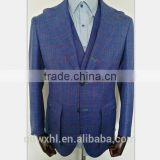 100% wool 120s half canvas men bespoke suits tailored suits customized suits