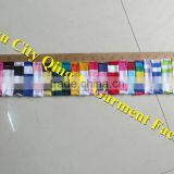 Yiwu City Qing Li Garment Factory Cotton Stripe Print Color Chart Colorful Kids Knitted Cotton Color Chart