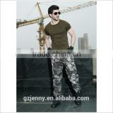 2016 New Model Custom Plain Army Combat t Shirt Military Clothing for Men