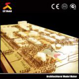 Miniature architectural scale models for city planning layout/urban planning model