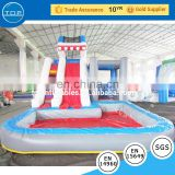 Guangzhou supplier castle inflatable dry slide amusement equipment on sale