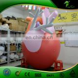 Promotional large inflatable heart replica,giant lifelike inflatable human heart model for sale