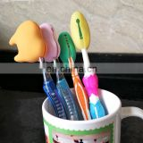 Dongrong Silicone rubber toothbrush holder/silicone toothbrush head for kids