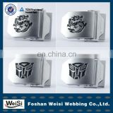 China Silver Aluminum Batman Belt Buckle
