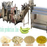 automatic banana/plantain chips processing machine/plantain chips production line with low price