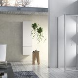 Bi-fold Shower Enclosure Square Shape