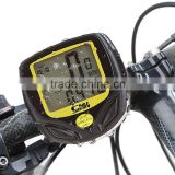 Multi Functions Wireless Cyclocomputer, Waterproof Cycling Bike Odometer Bycicle Speedometer