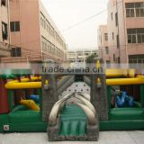Giant inflatable fun play city inflatable sports playground combo inflatable games for kids