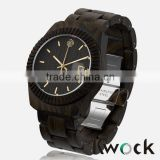 Kwock 2016 high quality watch,luxury watch,quartz natural bamboo watch for man                                                                         Quality Choice