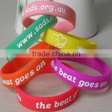 2014 custom logo size design cheap promotional items china personalized silicone wristbands