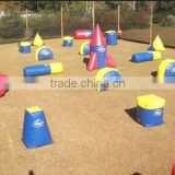 New Arrival Plato PVC Tarpaulin Inflatable Cheap Paintball Bunkers for Sports Activities
