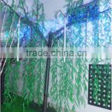 Wholesale indoor Christmas festival decoration artificial Led willow tree for lakeside weeping willow tree lighting