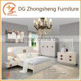 Chinese antique bedroom furniture set with painting