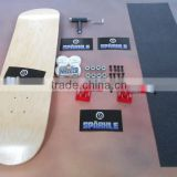 100% Canadian Maple Wood Skateboard Complete                                                                         Quality Choice