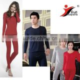 100% Modal couples' thermal underwear twinset