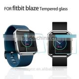 For fitbit blaze temper glass screen protector smart watch LCD screen protective film for Fitbit Blaze