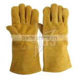 A Grade Cow Leather Welding Glove/ Guantes De Cuero