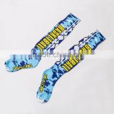 Digital Photo Custom Sublimation Print Soccer Sportswear Socks                                                                         Quality Choice