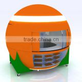 Made in China customization Juice kiosk , Smoothie kiosk, coffee kiosk of free design