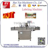 Shanghai BY-TB100 Automatic beer bottle labeling machine,can jar labeling machine,bottle labeling machine price