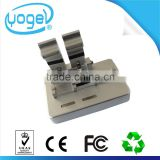 Optical aligner cladding alignment fiber optic splicing core to core alignment