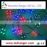 Individually Addressable Waterproof LED Pixel Module 32*32mm WS2811 Pixel LED module