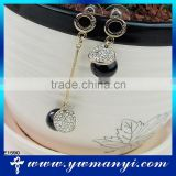 Direct manufacturer fashion product crystal rhinestone cuff earring E1590
