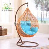 Rattan Resin Wicker Hanging Indoor Swing Chair with Stand                                                                         Quality Choice