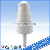 plastic white and purple 24/410 New Type cosmetic treatment pump for foundation cream use with all cover cap