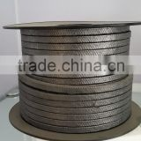 BLACK Braided graphite packing