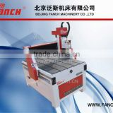 FANCH Super mini 3d CNC router for sign engraving /400*400mm working table /table moving /ball screw drive /stepper motors