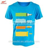 Hot selling made in China OEM 100% Polyester quick dry brand new fashion custom print fashion t-shirt