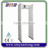 New high sensitivity temperature scanner walk through metal detector price,best metal detector machine