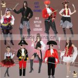 Halloween costume adult and kids pirate costume dress party costumes                                                                         Quality Choice