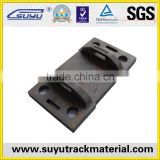railroad tie plate for rail fastening system