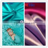 Stretch smooth fabric baby blanket fabric blanket satin fabric
