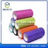 Aofeite Wholesale Tube8. Japanese Girl Fintness Yoga EVA Foam Roller Customized Logo with 14*33cm Rubber Foam Roller