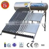 Solar system portable bath solar heat pipe water heater