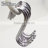 High quality bulk metal s shaped hanger hooks for hanging tools