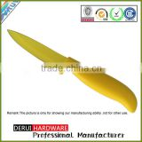Fashion and durable color non-stick blade paring knife