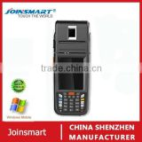 X11 rugged mobile handheld wireless barcode scanner PDA with thermal printer, WIFI, 3G,fingerprint reader