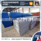 q235 prop scaffold layher used black pipe for sale