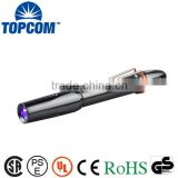 TOP Quality Fluorescence Inspection UV Pen Stylus Flashlight 365nm , 390nm                                                                         Quality Choice