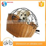 pet bicycle basket wholesale High Quality bike basket dog carrier