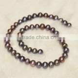 Factory direct sale fancy black loose fresh water pearls                                                                         Quality Choice