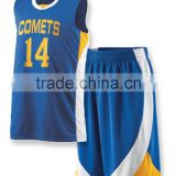 Sportswear Youth Basketball Uniform Custom Basketball Uniforms 100% Polyester / Sublimated Basketball Uniforms